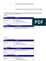 4 Financial Proposal Template Annex 4