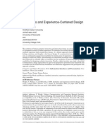 Aesthetics and Experience-centered Design