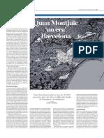 Quan Montjuïc No Era Barcelona. ARA 24-10-15