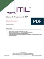 Latam Spanish Sample Exam 1 Itil Foundation 201312