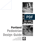 Portland Design Guide Pedestrian