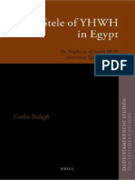(Oudtestamentische Studiën 60) Csaba Balogh-The Stele of YHWH in Egypt_ The Prophecies of Isaiah 18–20 concerning Egypt and Kush-Brill (2011).pdf