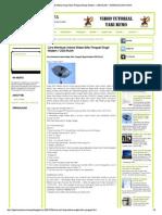 Cara Membuat Antena Wajan Bolic Penguat...l Modem _ USB WLAN ~ MARKAS DUNIA MAYA