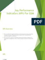 Key Performance Indicators (KPI) GSM