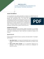 Gravimetría Parte I - Determinación Porcentual de Humedad, Cenizas y Materia Orgánica.
