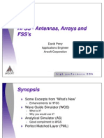 Antennas_Arrays and FSS (Relation MasterSlave With Angle)
