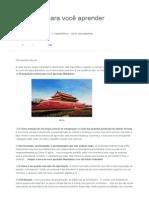 10 Razões Para Você Aprender Mandarim - Curso de Chinês Mandarim