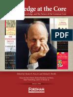 Knowledge at the Core - Edited by Chester E. Finn, Jr. & Michael J. Petrilli.epub