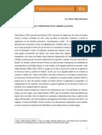 Estado y Democracia en América Latina