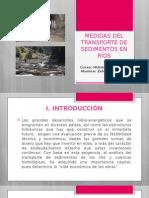 Medidas Del Transporte de Sedimentos en Ríos