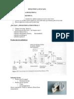 Bioquímica Aplicada Cap 1 y 2