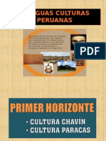 antiguas culturas peruanas
