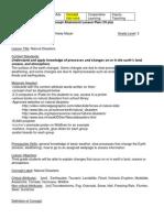 Concept Attainment Lesson Plan PDF Standard 8