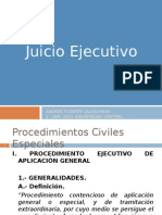 Juicio Ejecutivo 2015 (Primera parte).ppt