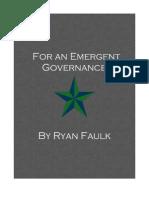 For an Emergent Governance Rev. 3