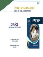 5.- ESPAÑOL I (5-09-11)