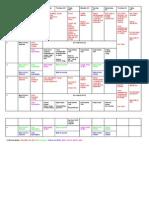 Team Wide Box Project Calendar