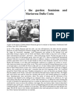 The Door to the Garden Feminism and Operaismo - Mariarosa Dalla Costa