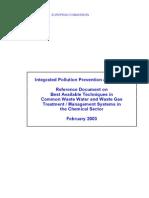 IPPC - CWW BREF