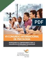 Programa del VII Congreso Interncional Universidad Autonoma del Perú