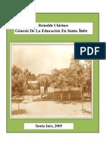 Génesis de La Educación en Santa Inés