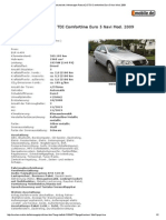 1 Druckansicht_ Volkswagen Passat 2.0 TDI Comfortline Euro 5 Navi Mod DSG Volan 2008 Deasupra Fr Am Main
