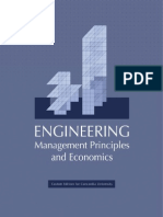 Engineering Management Principles and Economics