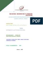 Informe Actividad Pastoral