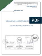 Norma de Antisépticos y Desinfectantes 2013-2018