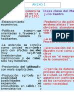 Realidad Socio Económica. Ideas de Julio Castro. Para Las Alumnas (1)