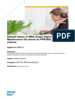 Default Values in MDG Single Object Maintenance UIs Based on FPM BOL Feeder Classes