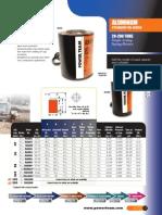 Power Team RA-Series Cylinders - Catalog