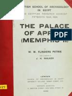 Petrie Palace of Apries Memphis