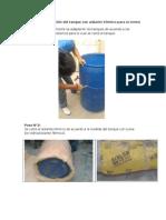 Fabricacion Del Tanque Con Aislante Termico Para La Termoacumulacion