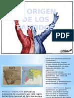Bipartidismo, Origen de Los Partidos Sociologia