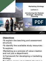 Marketing Strategy L1-2014 (2) Blackboard