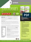 NATURLIGA 100% PLANT BASED PROTEIN Product Data Sheet