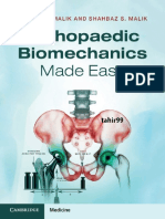 Orthopaedic Biomechanics Made Easy