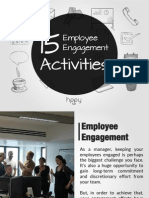 15 Employee Engagement Activities That You Can Start Doing Now