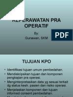 Pre Operatif Nursing