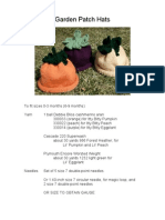 Garden Patch Hats