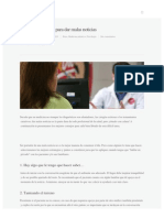 6 Recomendaciones Para Dar Malas Noticias _ Sapiens Medicus