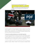 Resumen Ley de Crimen Organizado