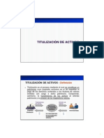 3 - Titulización de Activos