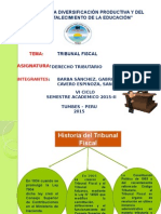 Diapositiva Tribunal Fiscal