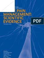 Acute Pain Management - Scientific Evidence 3rd Edition