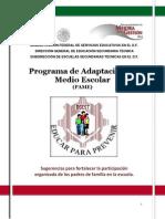 Programa de Adaptación Al Medio Escolar Padres