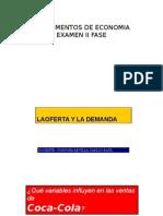 Examen II Fundamentos de Economia
