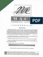 TEST PSICOLOGICO MACI (PROTOCOLO)