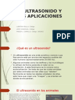 El Ultrasonido y Sus Aplicaciones-exposicion